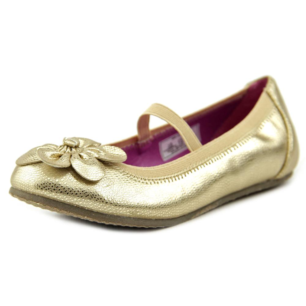 Stride Rite Alani Toddler  Round Toe Synthetic Gold Flats