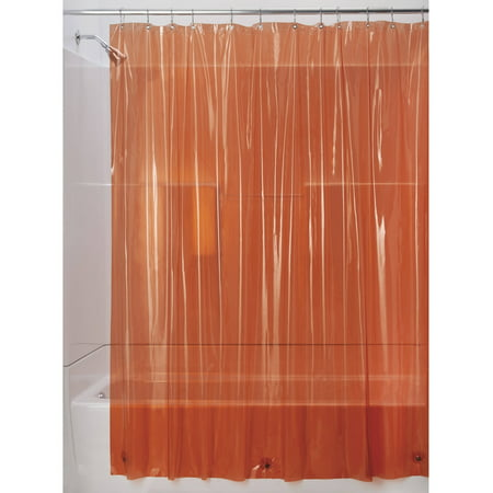 Interdesign Vinyl 4 8 Gauge Shower Curtain Liner Various Sizes