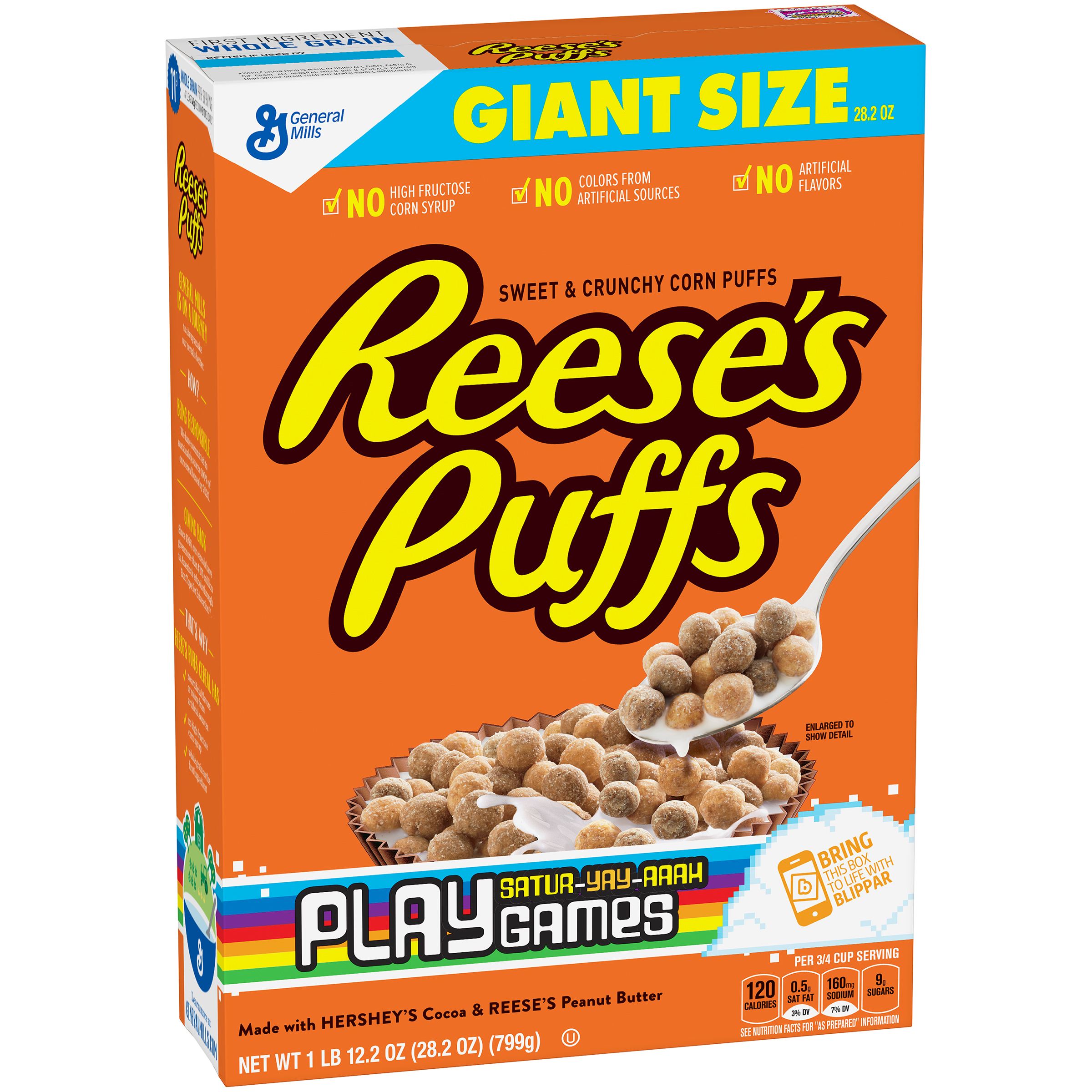 Reese's Puffs Cereal 28.2 oz. Box