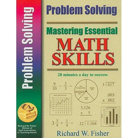 Mastering Essential Math Skills : Problem Solving - Halloween Math Problems 2nd Grade
