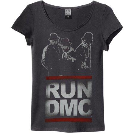 Run DMC  Silhouette Junior Top Black (Run Dmc Outfit)