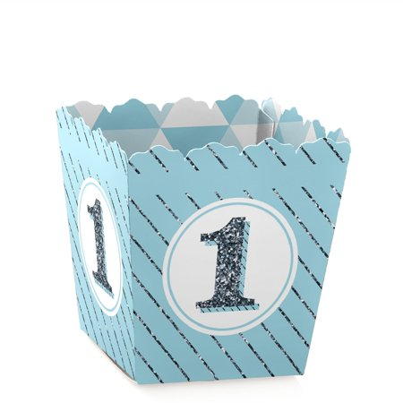 1st Birthday Boy - Fun to be One - Party Mini Favor Boxes - First  Birthday Party Treat Candy Boxes - Set of 12