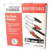 Southwire Booster Cables, 4/1 AWG, 16 ft, Black
