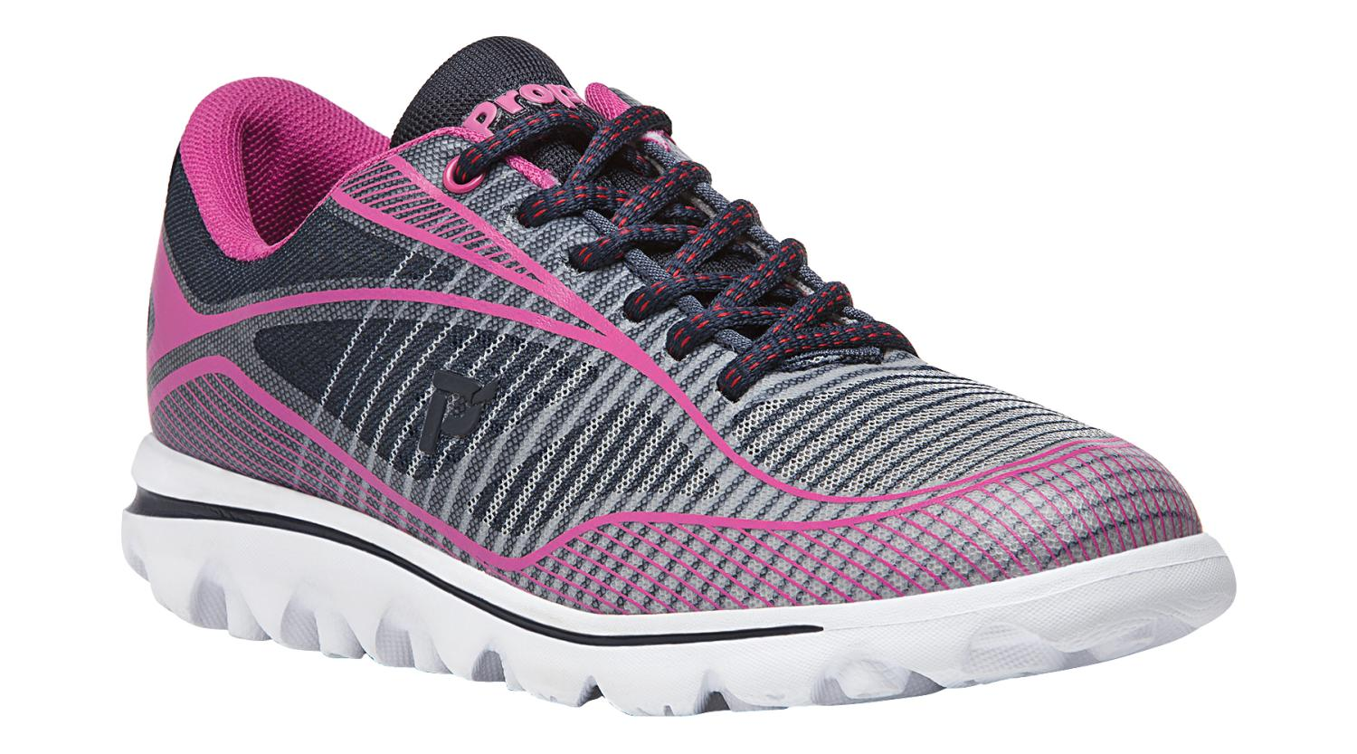 Propet Billie Women's Rejuve Athletic Shoes Navy Pink by Propet