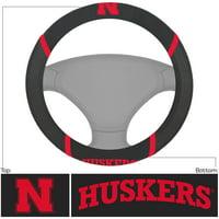 University of Nebraska Steering Wheel Cover