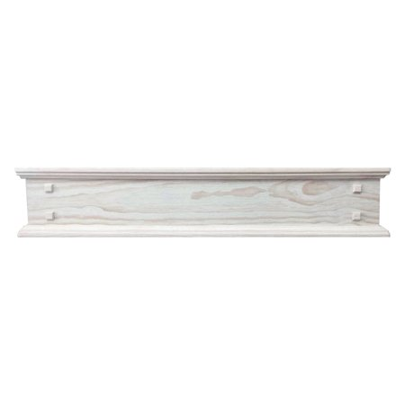 - Pearls Mantel Jackson Rustic Unfinished Storage Shelf
