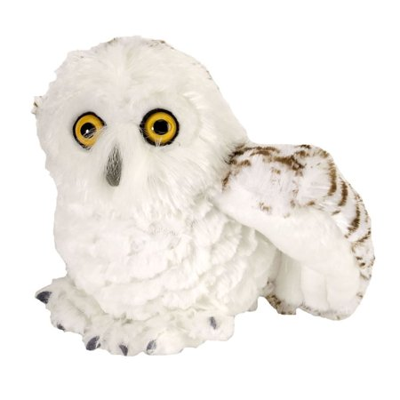 Wild Republic Snowy Owl Plush, Stuffed Animal, Plush Toy, Gifts for Kids, Cuddlekins 8 Inches - Stuffed Owl Toy