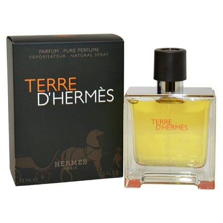 Terre D'Hermes by Hermes for Men - 2.5 oz Pure Perfume Spray