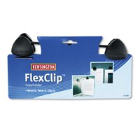 Kensington FlexClip Gooseneck Copyholder, Monitor/Laptop Mount, Black -KMW62081