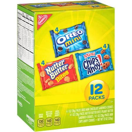 Nabisco Munch Packs, 12 oz