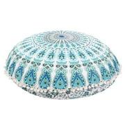 Large Round Mandala Meditation Floor Pillows Indian Tapestry Bohemian Pouf