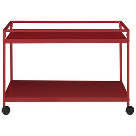 Altra Furniture Marshall Rolling Coffee Table Cart, Multiple Colors - Altra Furniture Marshall Rolling Coffee Table Cart, Multiple