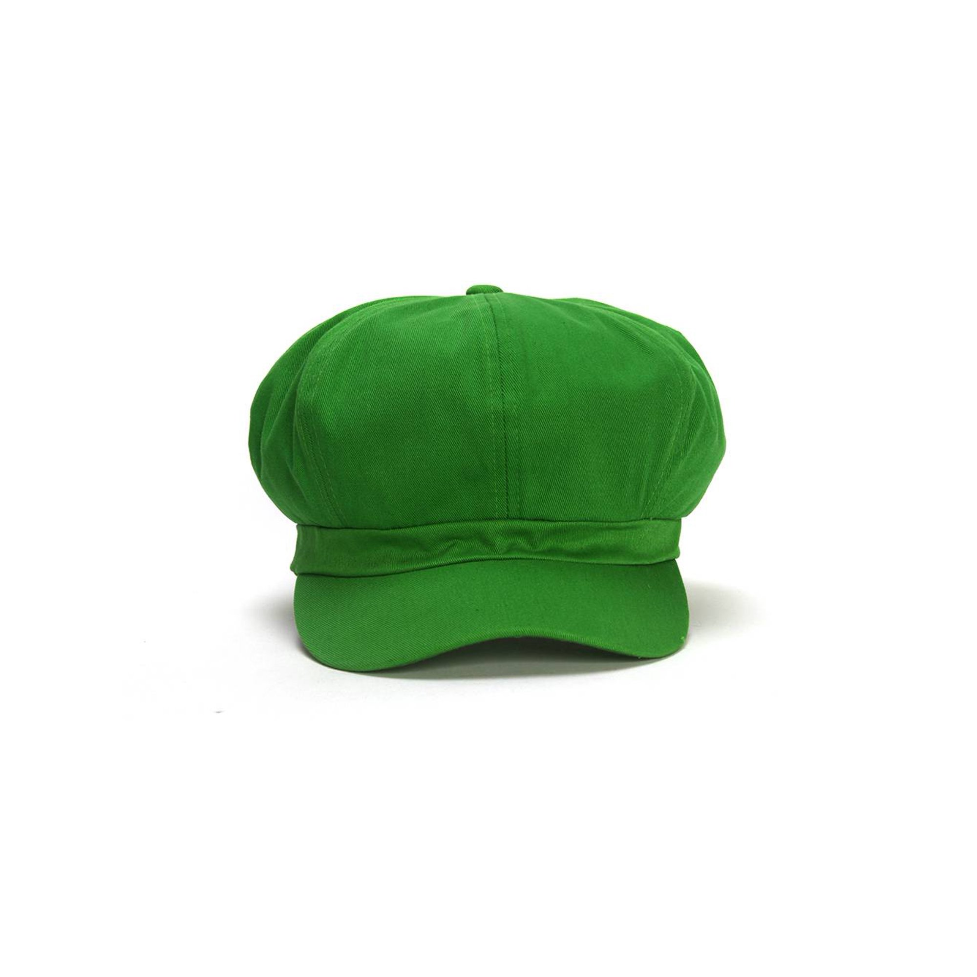 Cotton Elastic Newsboy Cap - Green | Walmart Canada