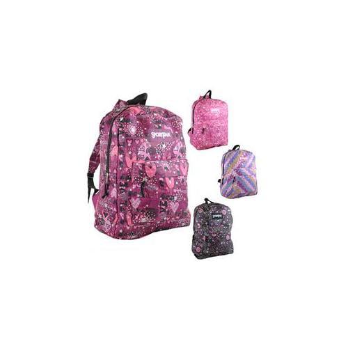DDI 1392621 Glitter 16. 5 inch Backpacks Case Of 24