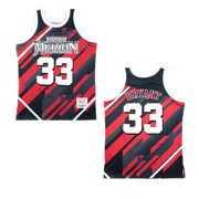Lower Merion Aces Kobe Bryant Black / Red Striped High School Jersey (XS)