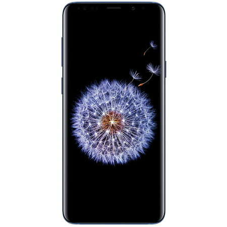 Samsung Galaxy S9+ G965U 64GB Unlocked GSM 4G LTE Phone w/ Dual 12MP Camera - Coral Blue