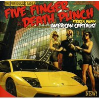 Five Finger Death Punch - American Capitalist (Edited) (CD)