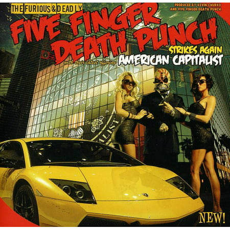 Five Finger Death Punch - American Capitalist (Edited)