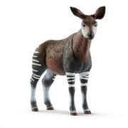 Schleich North America 255192 Brown & White Okapi