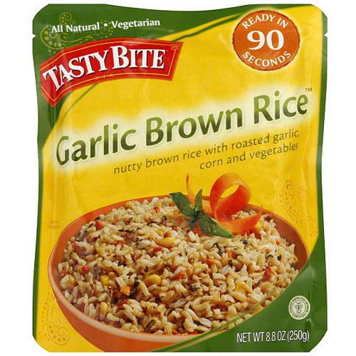 Tasty Bite Garlic Brown Rice, 8.8 oz (Pack of 6)
