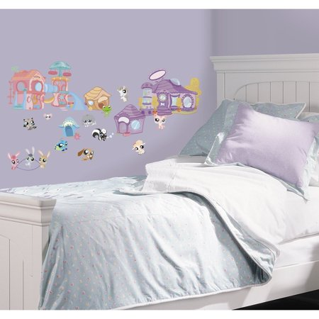 Littlest Pet Shop Wall Decal Sticker Decor Appliques Nursery Decoration - Lps Decorations