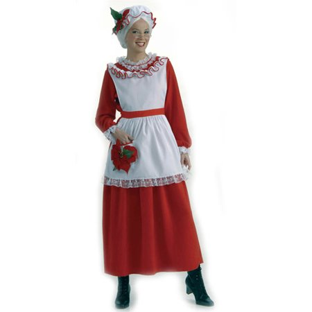 Classic Mrs. Claus Adult Costume