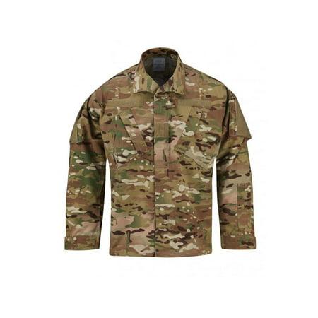 Propper ACU Coat Poly Cotton Battlerip Tactical Army Uniform Shirt - Multicam Army Combat Uniform Coat
