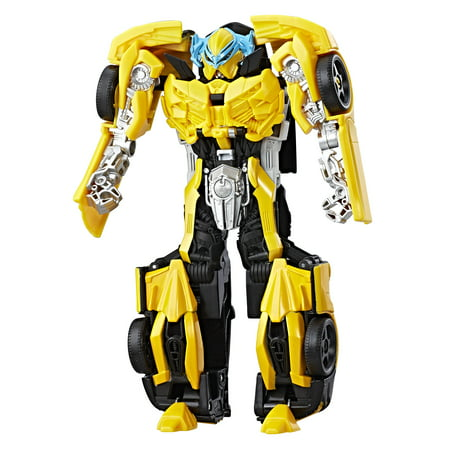 Transformers: The Last Knight -- Knight Armor Turbo Changer Bumblebee - Bumblebee Costume Transforms Into Car