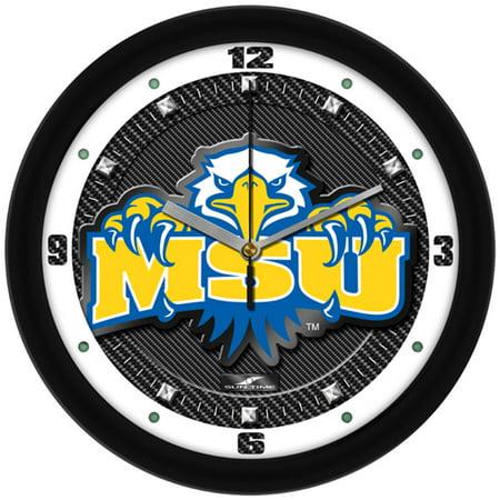 Morehead State Eagles NCAA Carbon Fiber Textured Wall Clock