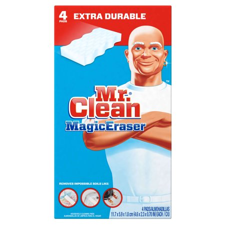 Mr  Clean Magic Eraser Extra Durable Scrubber   Cleaning Sponge  4Ct