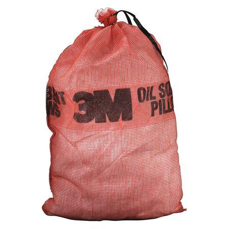 "3M Absorb Pillow,OilBased Liquids,25""L,PK10 T-240"