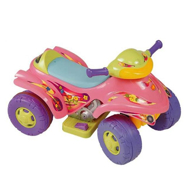 NewStar NS-892 PINK Turbo Tractor With Sound, Pink by New Star