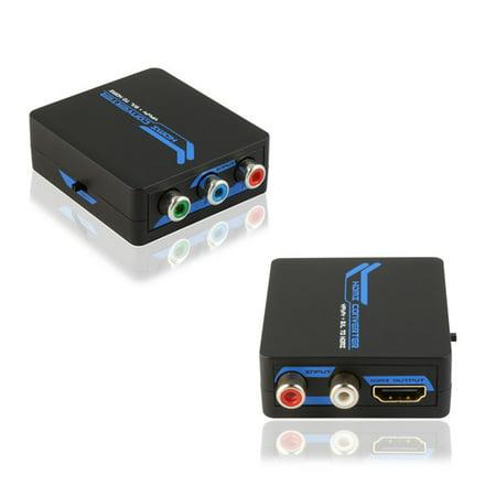 Component Video + L/R Audio to HDMI Converter ()