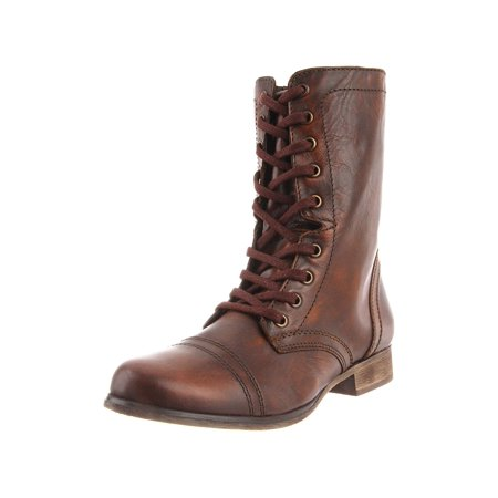 special section reliable quality promo codes Steve Madden Womens TROOPA Leather Round Toe Mid-Calf | Walmart Canada