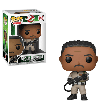 Funko POP! Movies Ghostbusters: Winston Zeddemore, Vinyl Figure