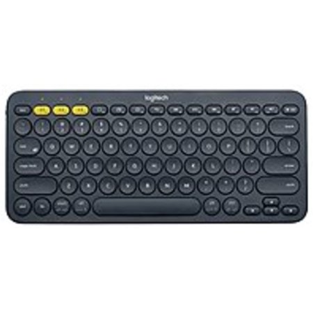 Refurbished Logitech K380 Multi-Device Bluetooth Keyboard - Wireless Connectivity - Bluetooth - 79 Key - Compatible with Computer, Tablet, Smartphone, Smart TV - QWERTY Keys Layout -