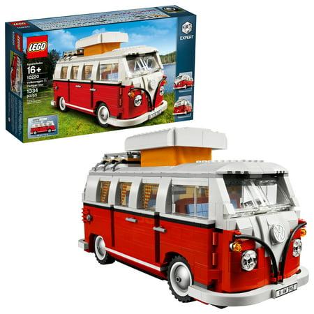 Lego Creator Expert Volkswagen T1 Camper Van 10220 Walmart