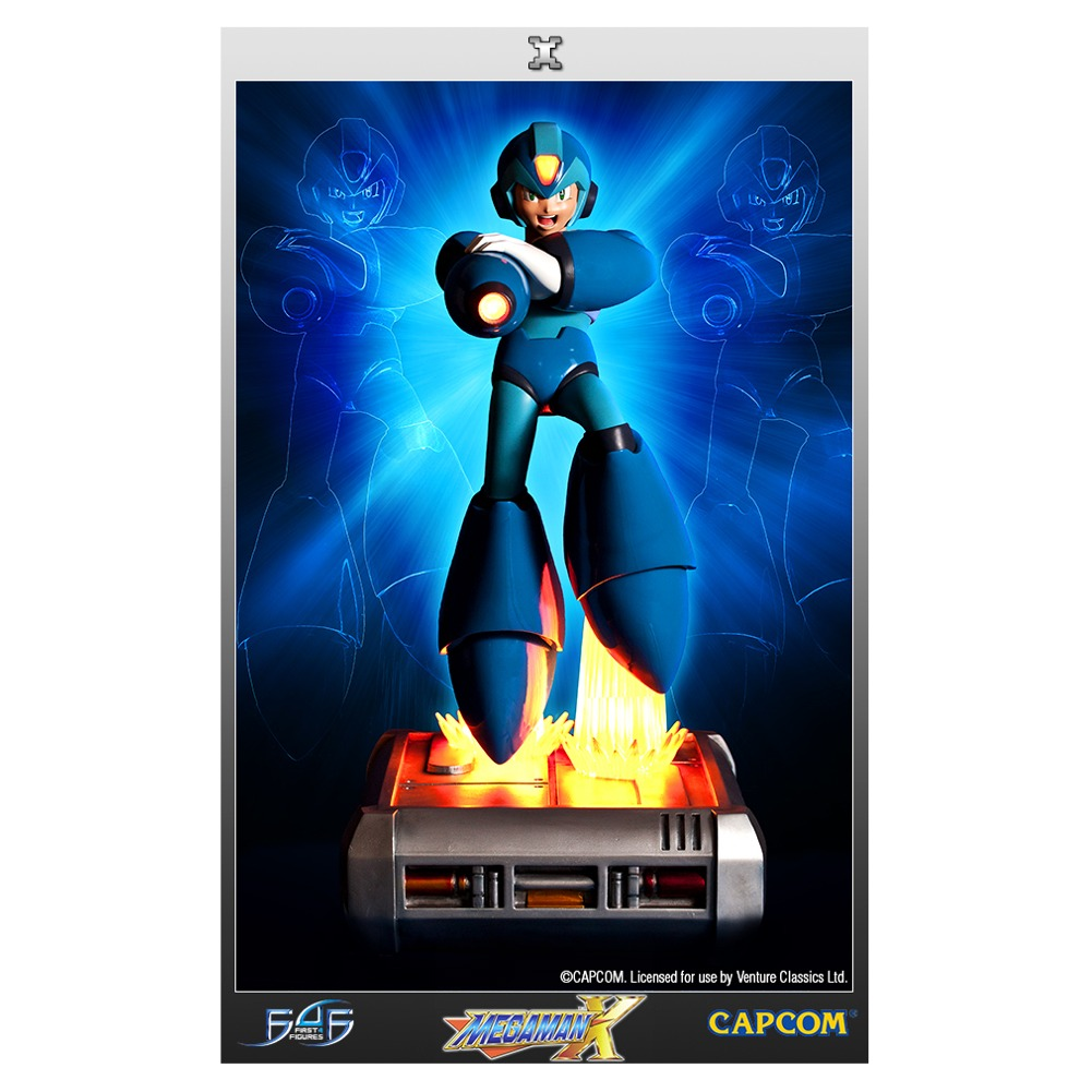 Mega Man X Limited Edition Collectible Statue