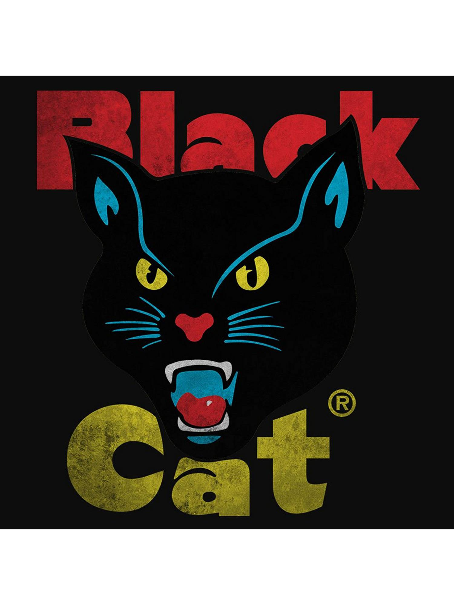 8ada94f9363d Black Cat Fireworks Licensed T-Shirt