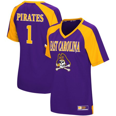 East Carolina Pirates Colosseum Women's Torch Jersey - (Torch Apparel)