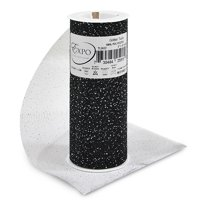 "Expo Int'l Glitter Tulle Spool 6"" x 10 Yards"