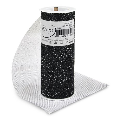 Expo Int'l Glitter Tulle Spool 6