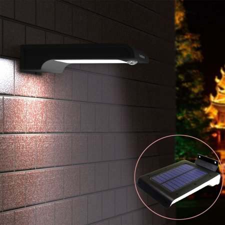 Ktaxon 2pack 32 Led Solar Lights 3 Modes Motion Sensor Outdoor Light Waterproof Auto Security Night Detector Lighting For Gutter Fence Yard Patio