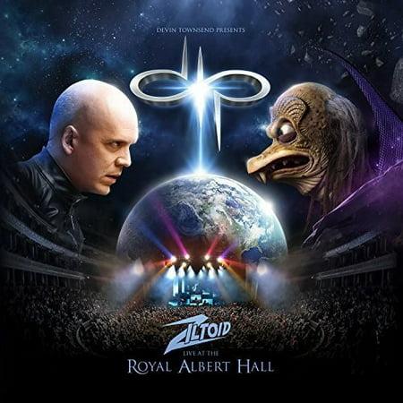 Devin Townsend Presents: Ziltoid Live At The Royal Albert Hall (CD) (Includes DVD) (Digi-Pak) (Halloween Live Music Hall)