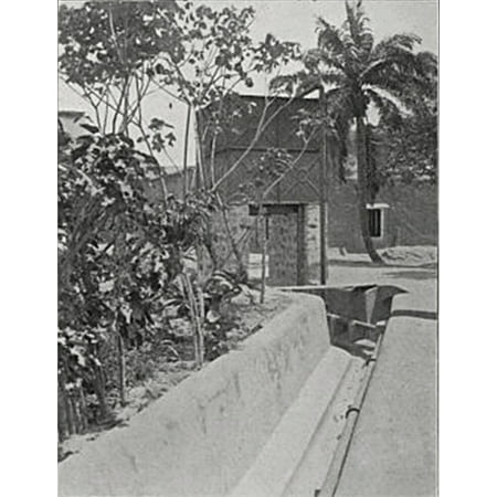LAMINATED POSTER Description: Gold Coast, Cape Coast. Flushing tank at head of main drain. Location: Gold Coast, Cape Poster Print 24 x 36