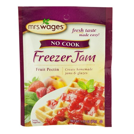 Mrs. Wages No Cook Freezer Jam Fruit Pectin 1.59 oz. (6 Packets)