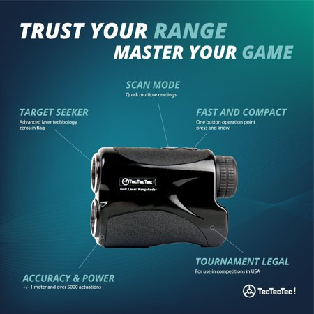 TecTecTec VPRO500 Golf Rangefinder (Best Golf Rangefinder App For Android)