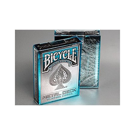 Bicycle Metal Rider Back Playing Cards Blue by Collectable Playing Cards, By MTS From USA