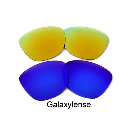 Galaxy Replacement Lenses for Oakley Frogskin Gold & (Frogskins Glasses)