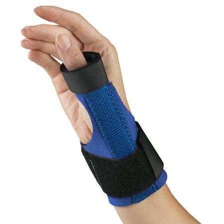OTC Neoprene Thumb Splint, Blue, Medium